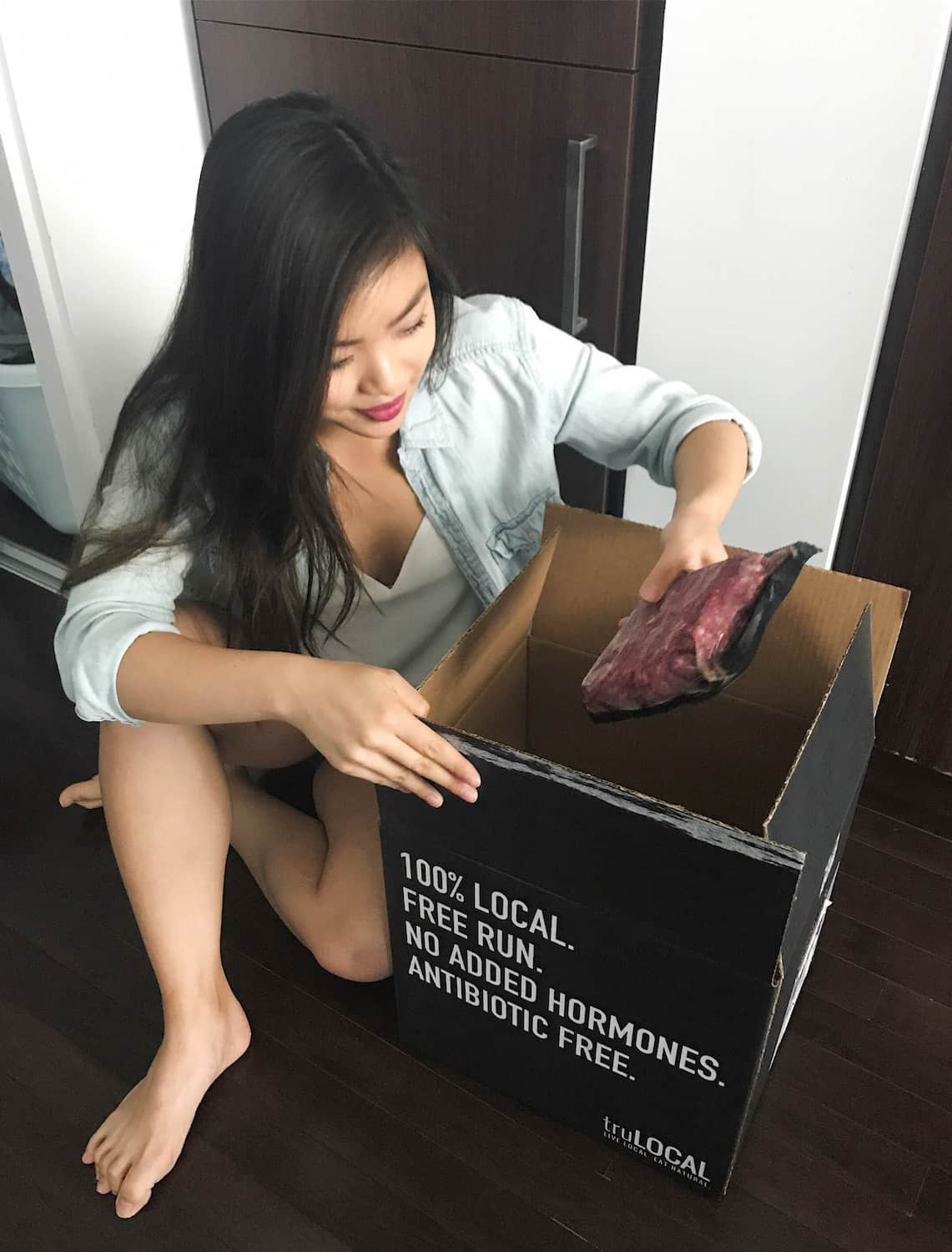 Monthly meat delivery from truLOCAL