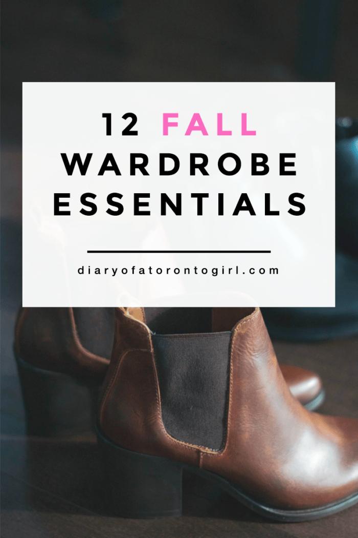 The best fall wardrobe essentials