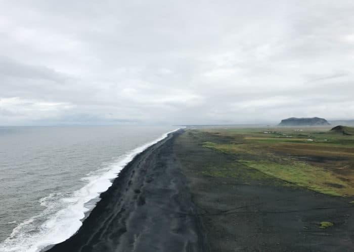 Dyrholaey Lighthouse in Iceland