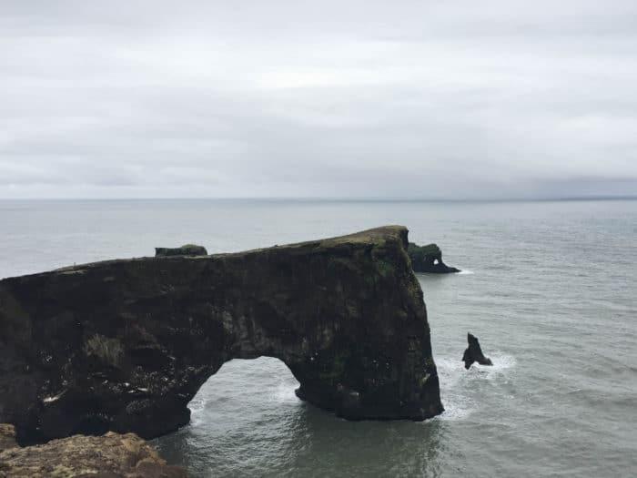 Dyrholaey Arch in Iceland
