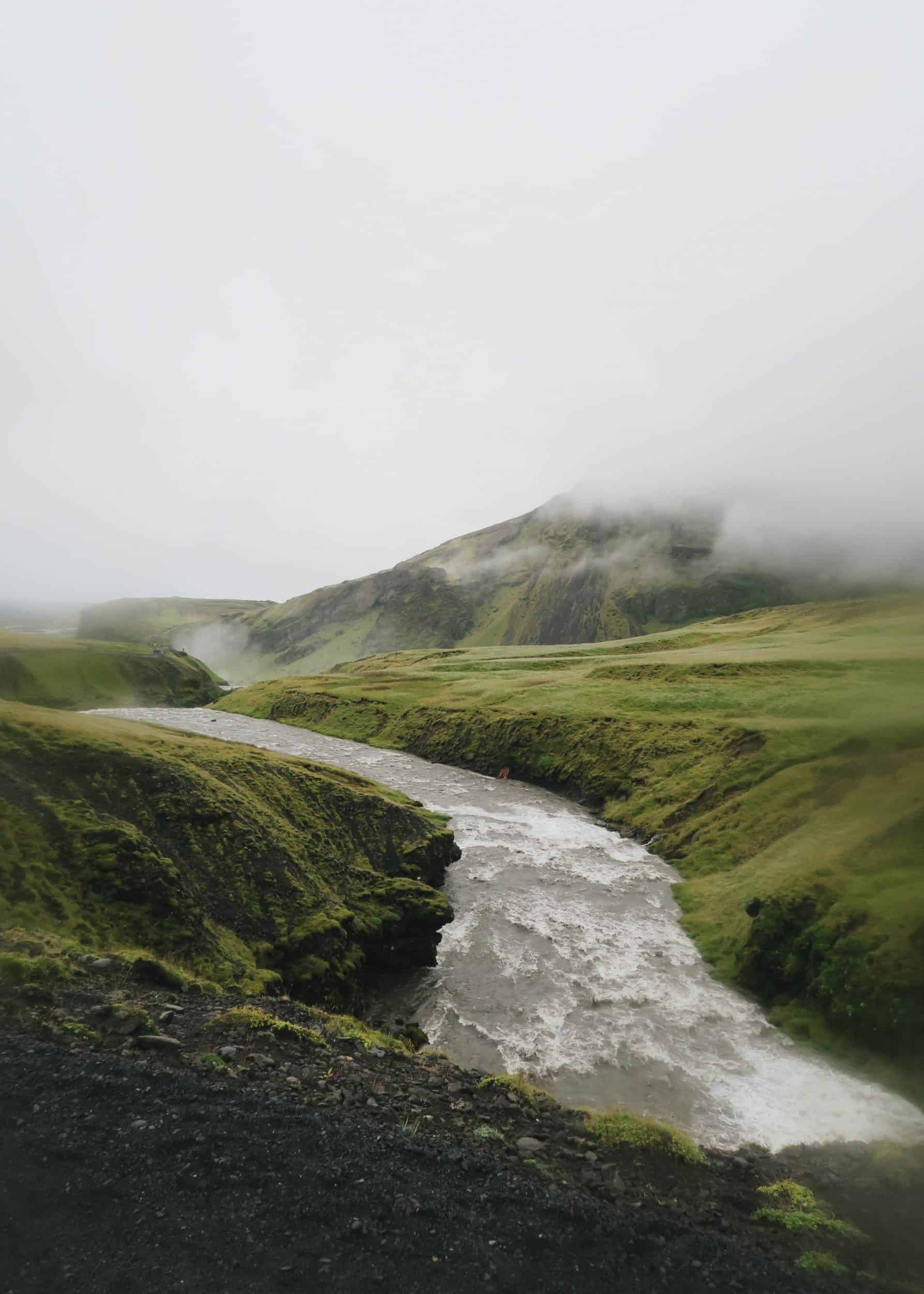 Hiking along the Skogafoss Waterfall Trail | Diary of a Toronto Girl, a Canadian lifestyle blog