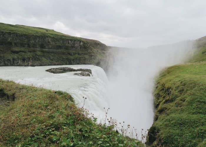 Gulfoss Waterfall in Iceland