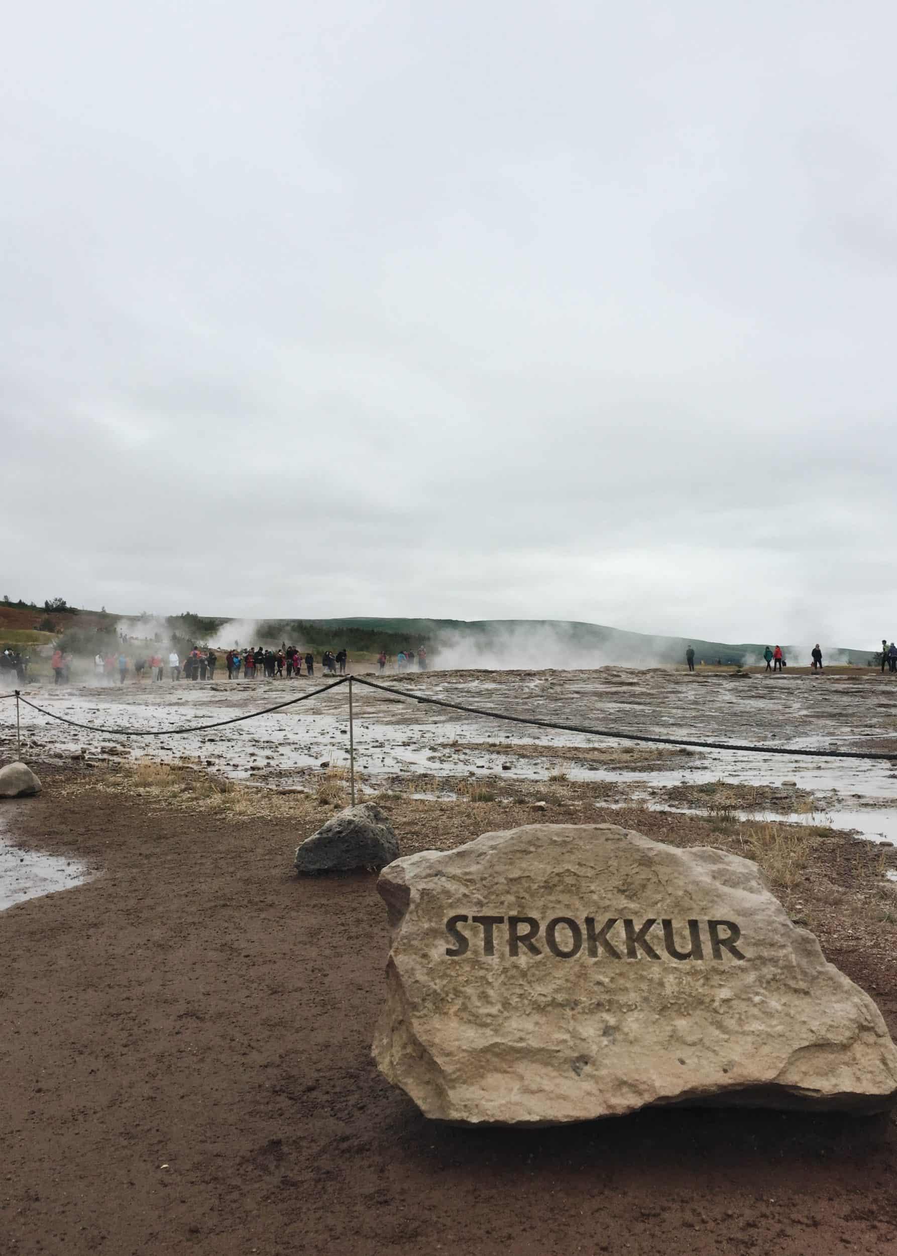 Strokkur Geysir Pool | Diary of a Toronto Girl, a Canadian lifestyle blog