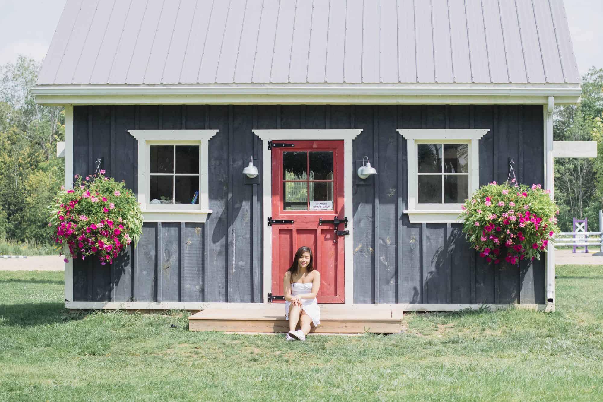 Terre Bleu Lavender Farm in Milton, Ontario   summer road trip ideas near Toronto   Diary of a Toronto Girl, a Canadian lifestyle blog