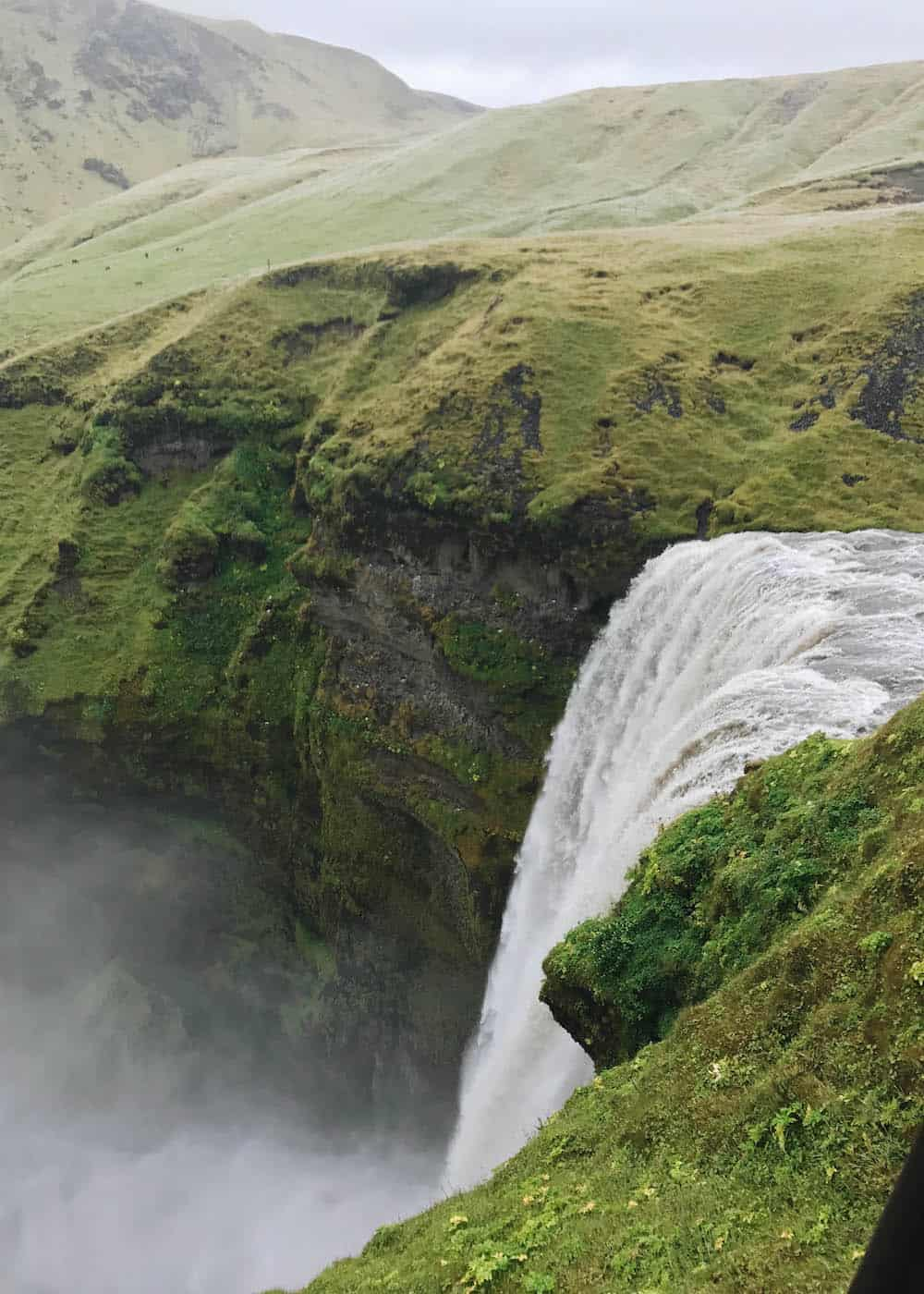 Top of Skogafoss Waterfall | Diary of a Toronto Girl, a Canadian lifestyle blog