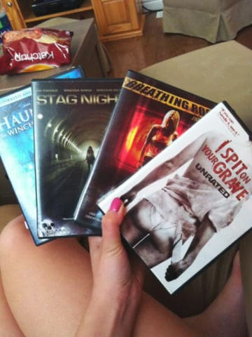 Horror movie binge list