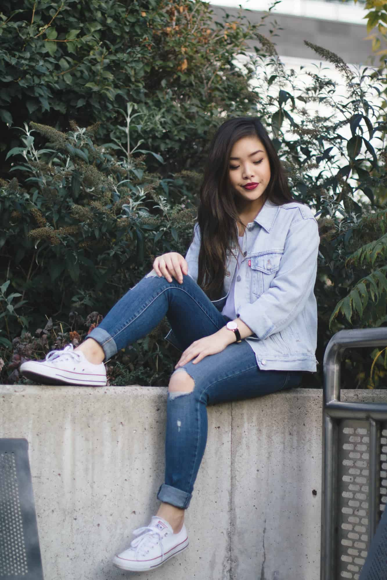 Tips on how to style denim on denim, also known as the Canadian tuxedo!