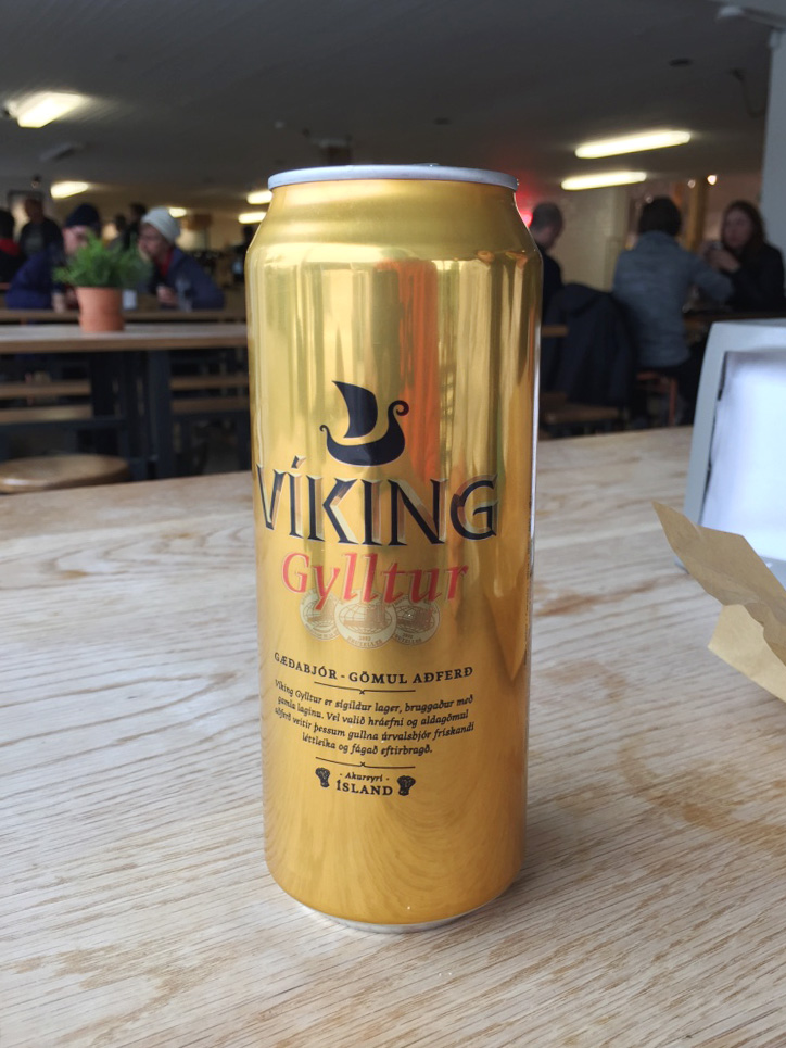 Viking beer in Iceland