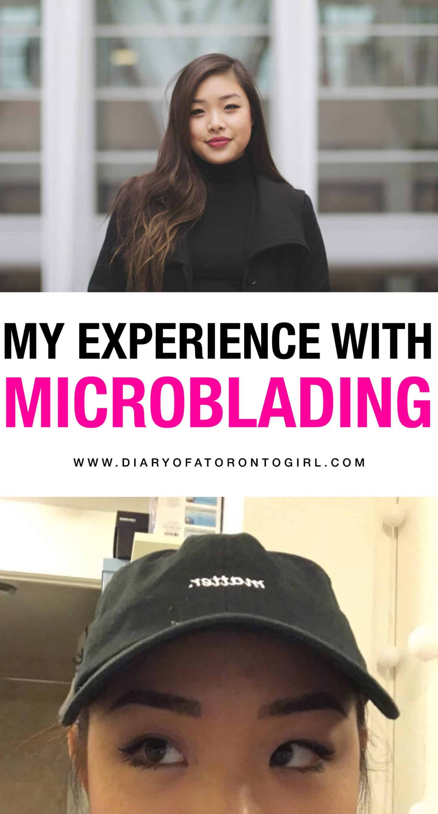 All about my microblading experience, including photos of the healing process, things to note about aftercare, and how they held up over time!