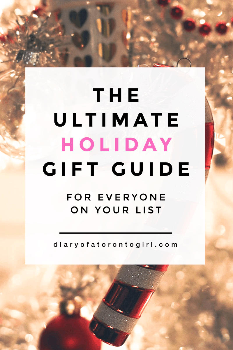Ultimate Amazon holiday gift guide | Christmas gift ideas and inspiration on Amazon Canada | holiday gift guide for every person on your list | Diary of a Toronto Girl, a Canadian lifestyle blog