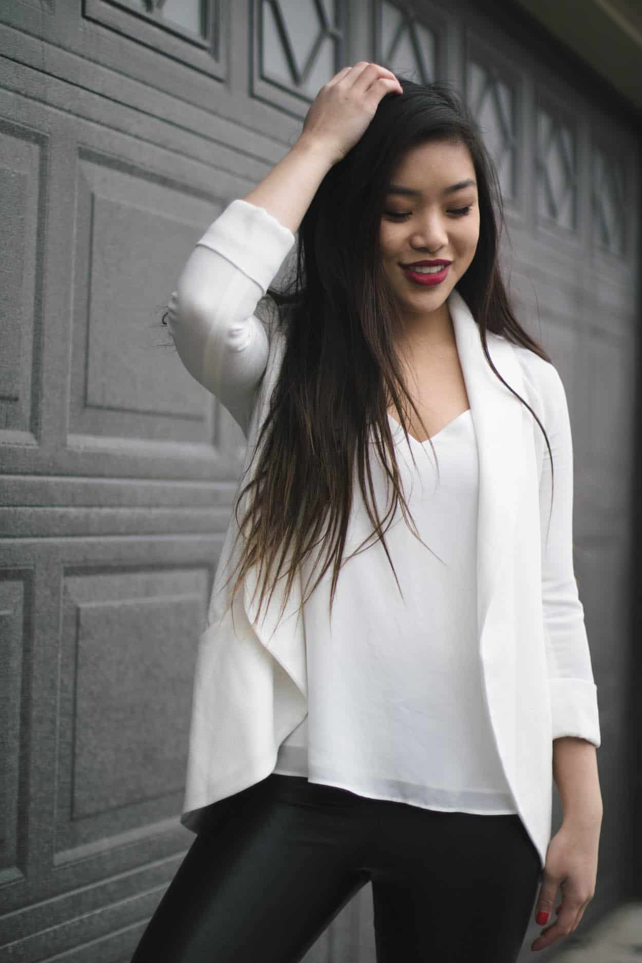Simple Valentine's Day outfit ideas for every occasion, whether it's a casual work day or a romantic date night out!