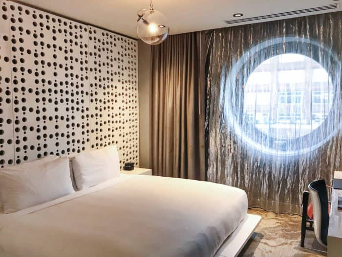 The Dream Downtown Hotel in New York City