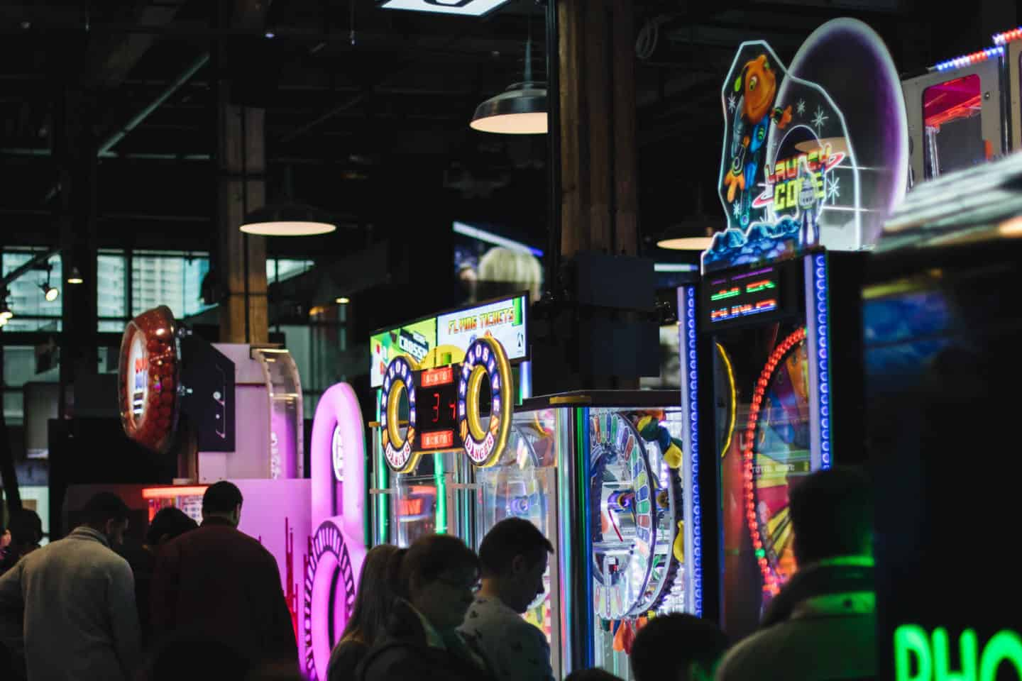The Rec Room is a fun spot to play arcade games and experience virtual reality in Toronto