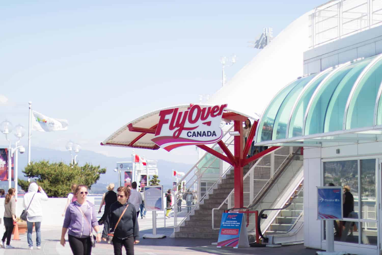 FlyOver Canada, Canada Place | Vancouver, British Columbia | best things to do in Vancouver, BC