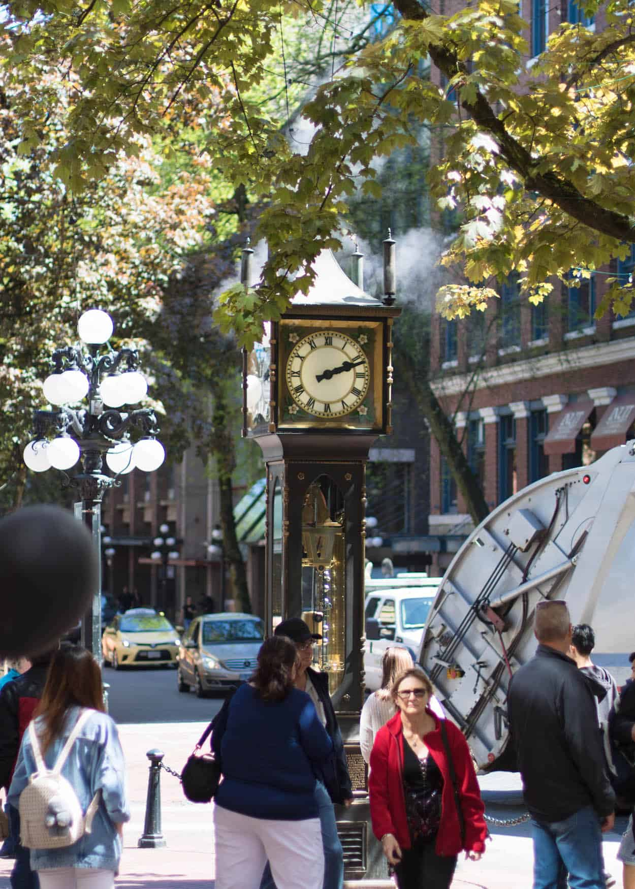 Gastown Steam Clock | Vancouver, British Columbia | best things to do in Vancouver, BC