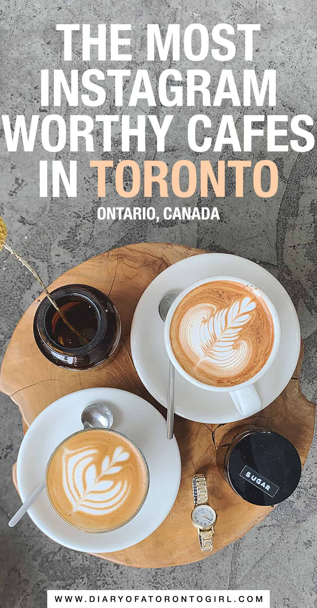Whether you're looking for colourful lattes or delicious holiday drinks, there's no shortage of amazing cafés in Toronto. Here are the best and most Instagrammable Toronto coffee shops to visit!