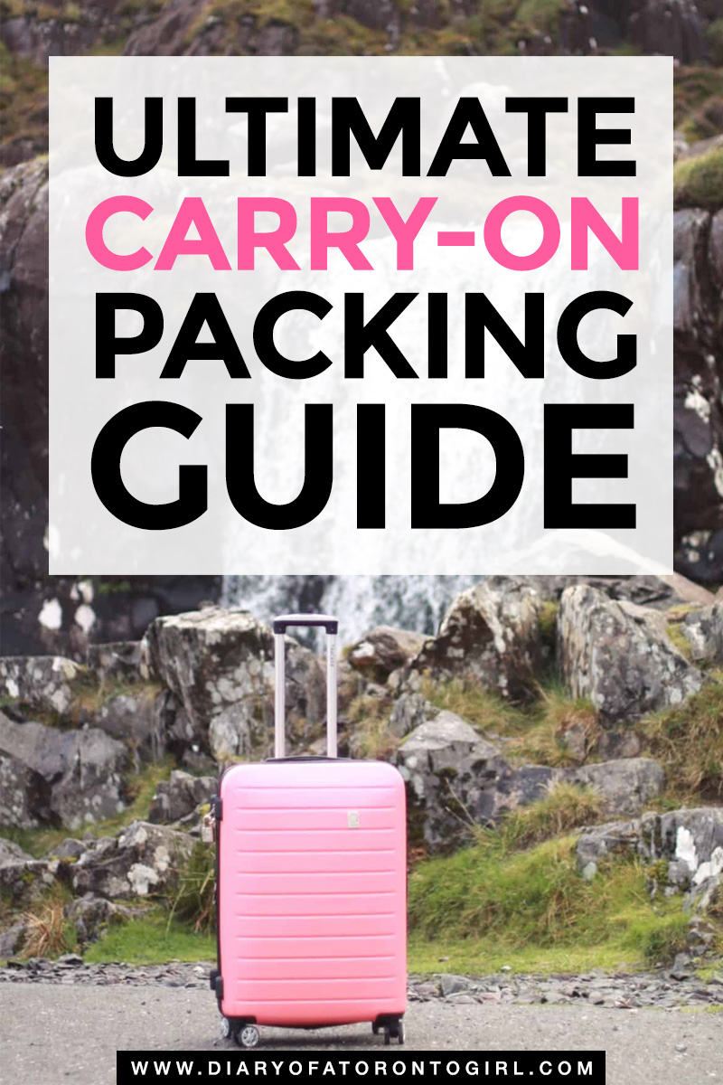 Putting together your carry-on packing list for your next trip? Here's your ultimate carry-on packing guide, including what to wear and what to pack for every vacation!