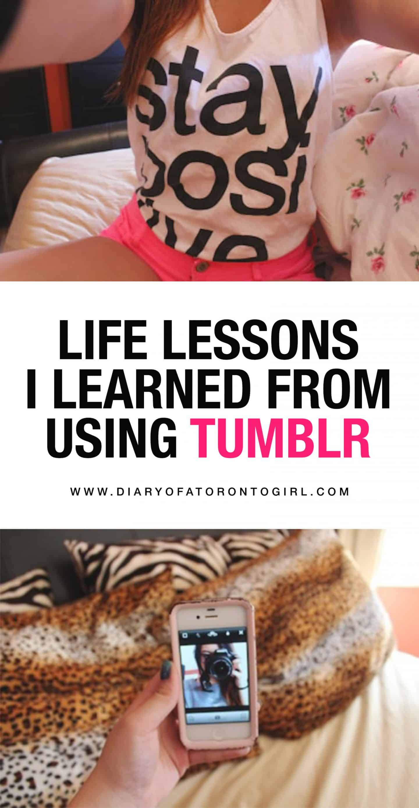 Being on Tumblr taught me life lessons I'll always carry with me. As a teen in high school, having Tumblr was like having a supportive community around you.