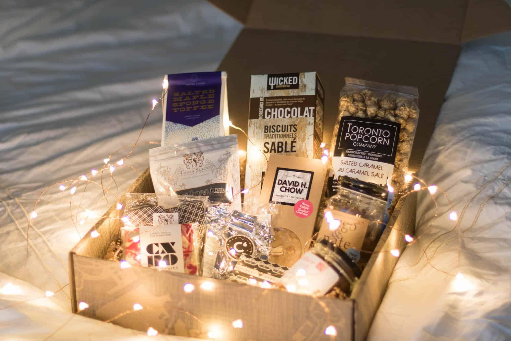 Toronto holiday gift basket from Saul Good Gift Co.