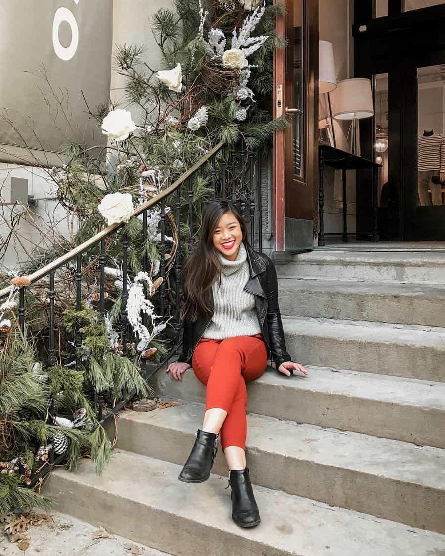Holiday decor along Bloor Street, Toronto