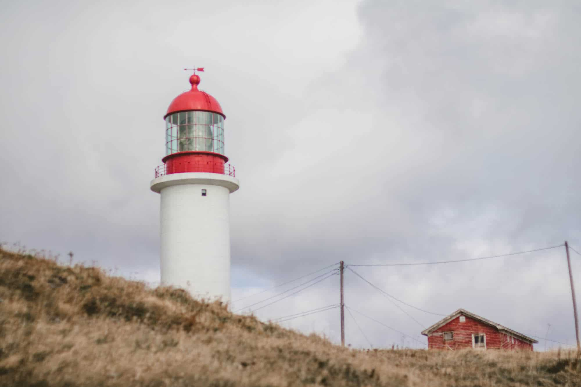 Cape Race Lighthouse in St. John's, Newfoundland
