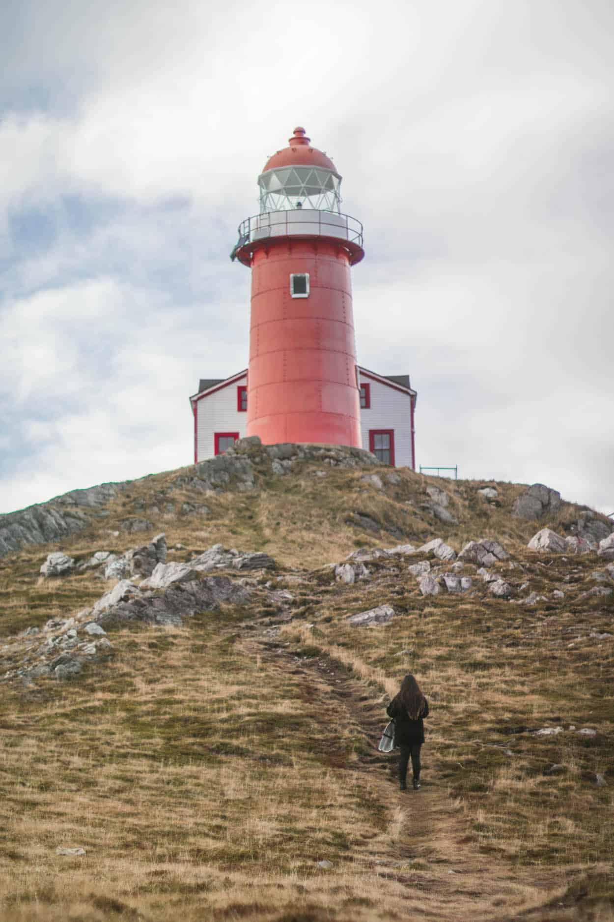 Ferryland Lighthouse in St. John's, Newfoundland