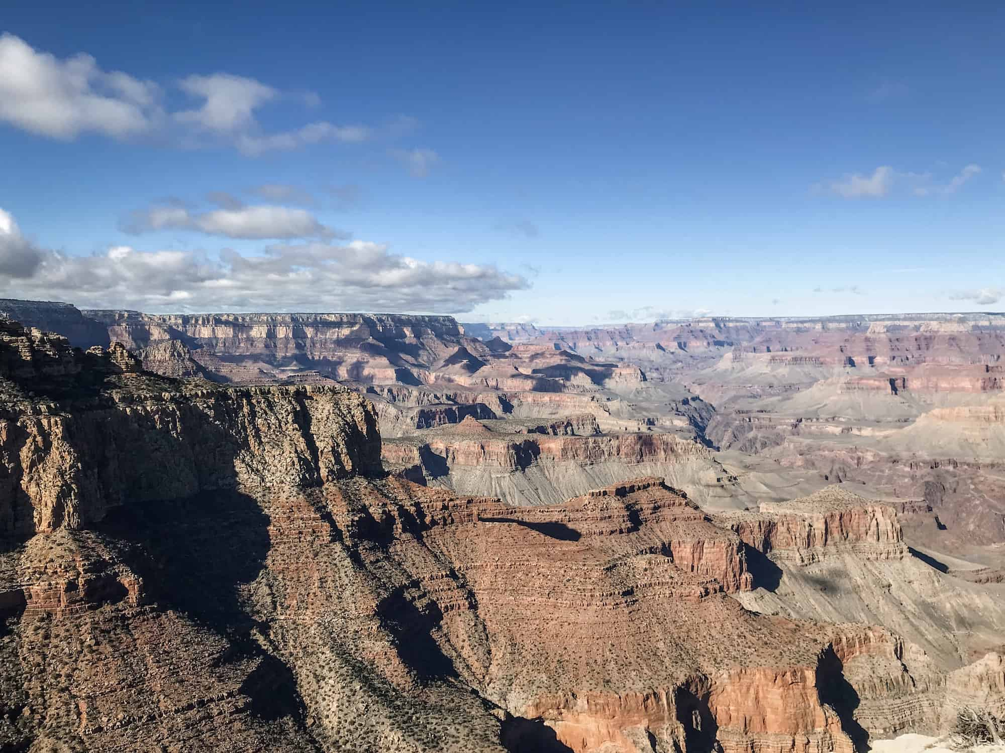 Grand Canyon National Park in Arizona is cool to see even during the winter