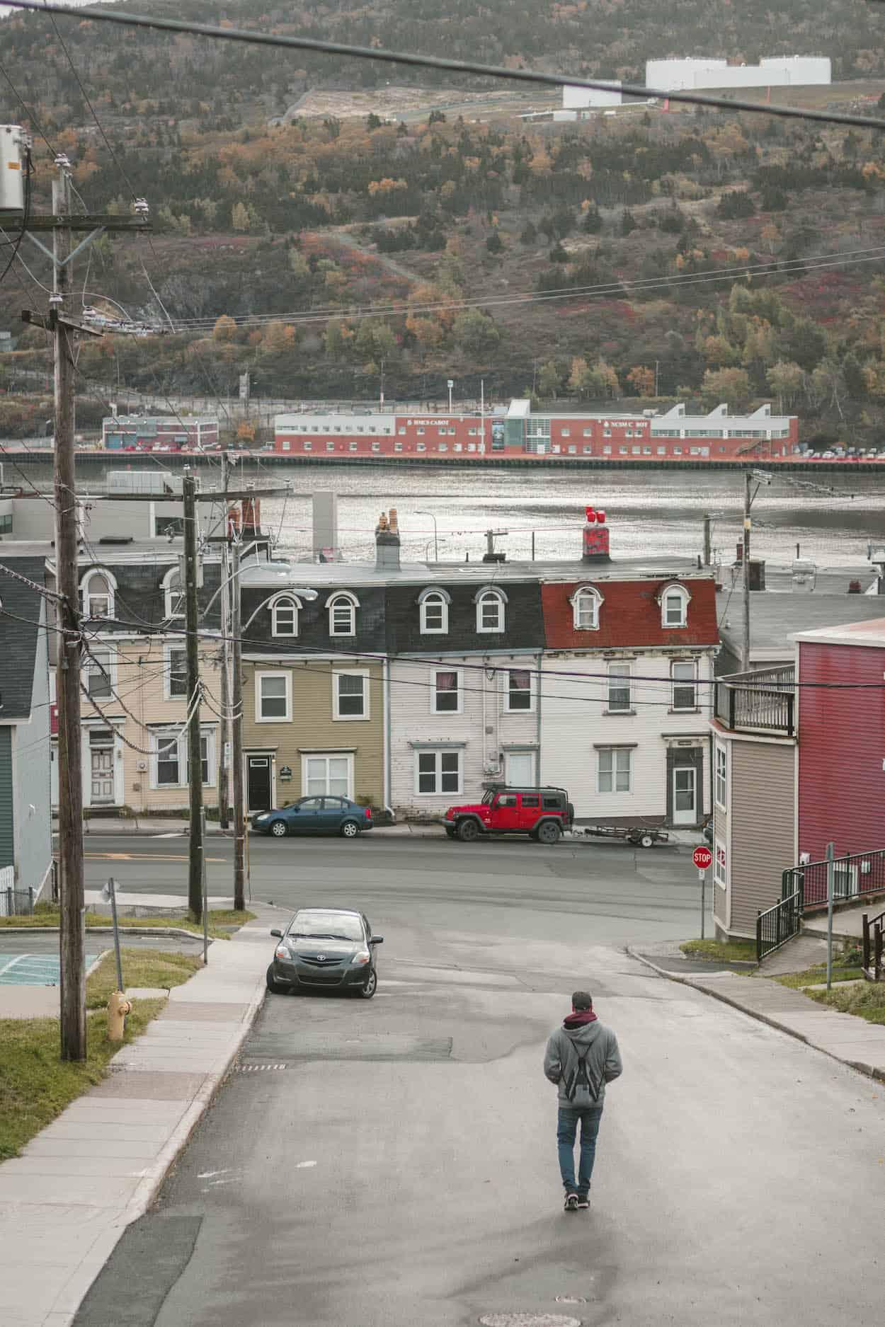 Downtown St. John's, Newfoundland