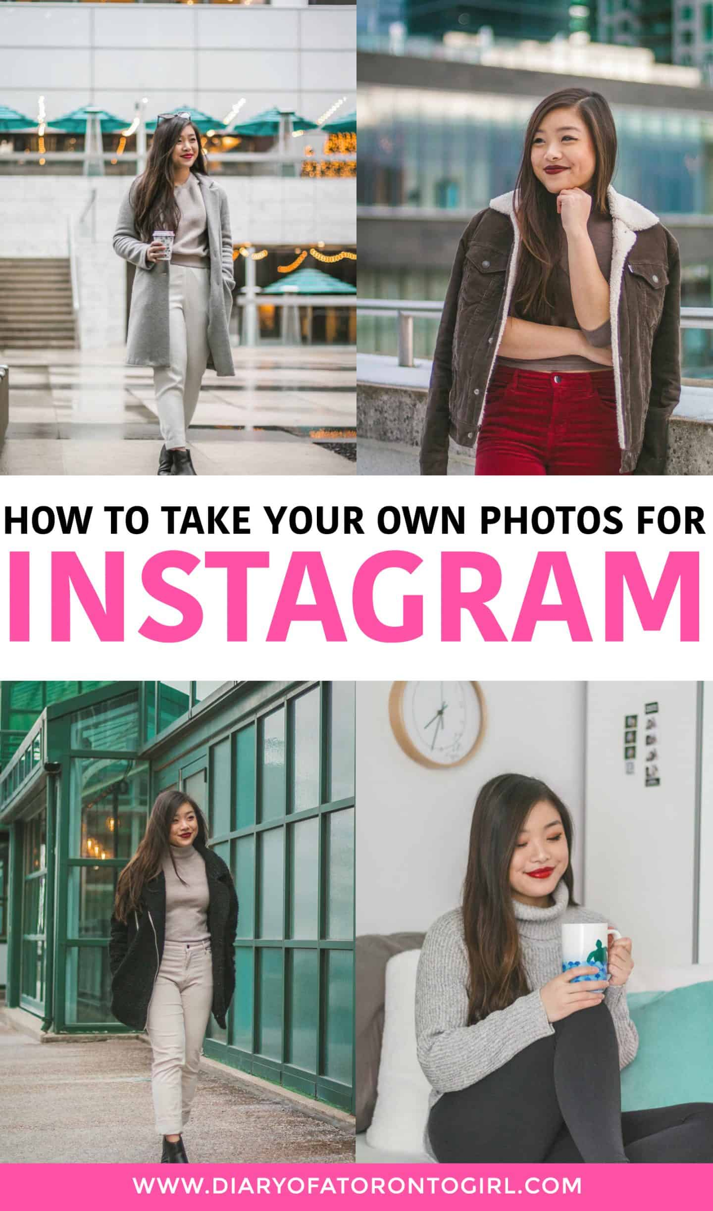 You can't always rely on an Instagram husband. These are my tips on how to take your own Instagram photos (and good ones at that) by yourself!