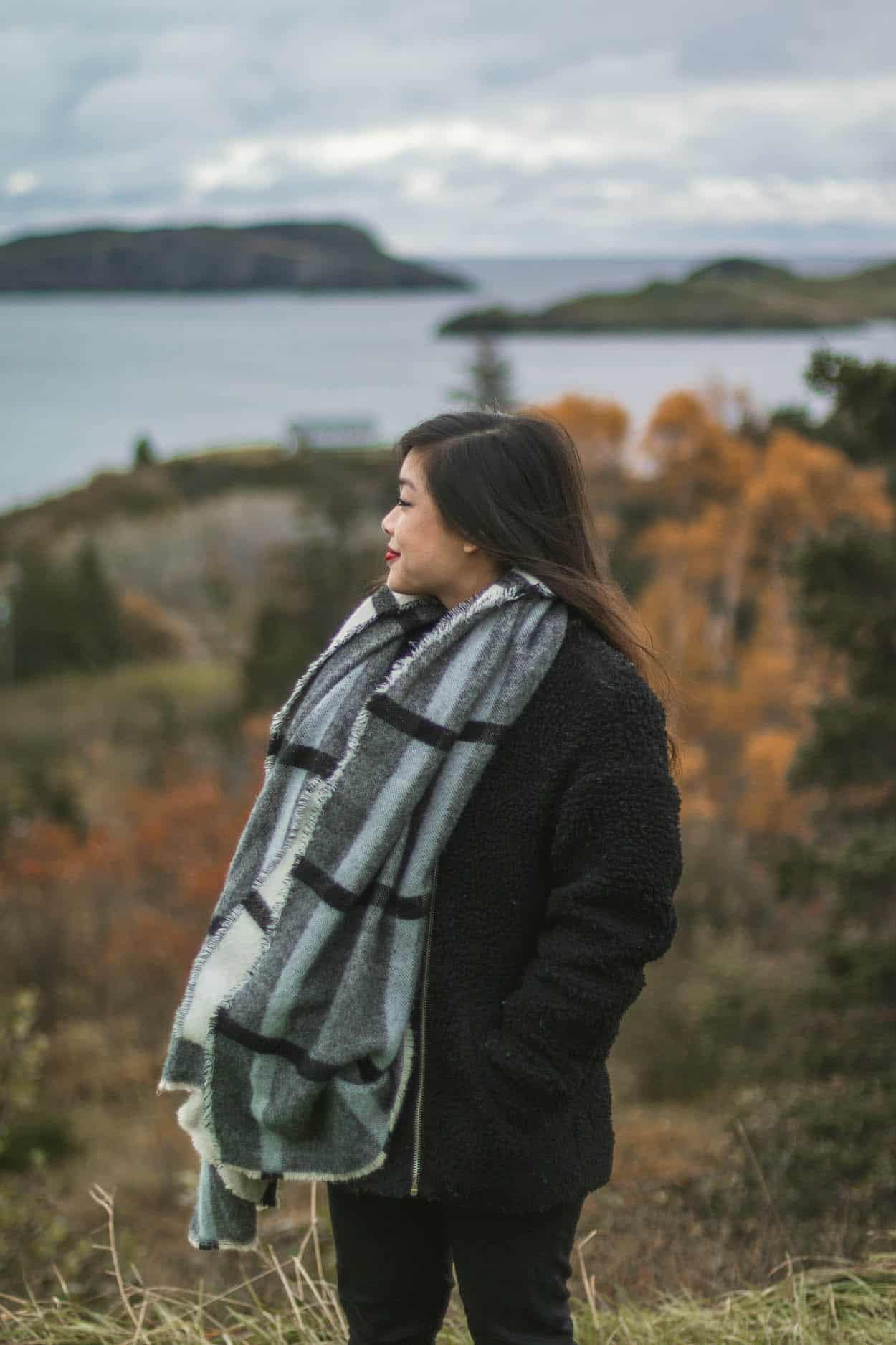 Tors Cove along the Irish Loop drive in St. John's, Newfoundland