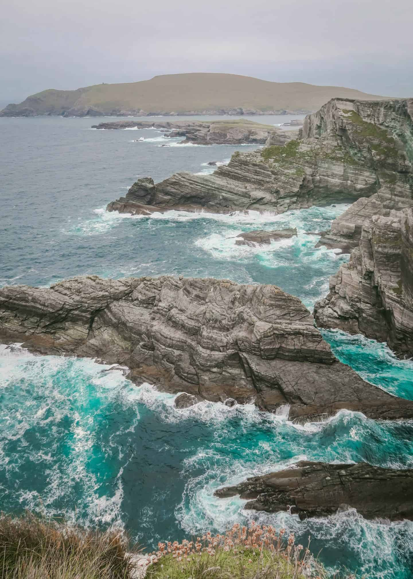 Kerry Cliffs is worth a stop along the Ring of Kerry drive during your Ireland road trip itinerary