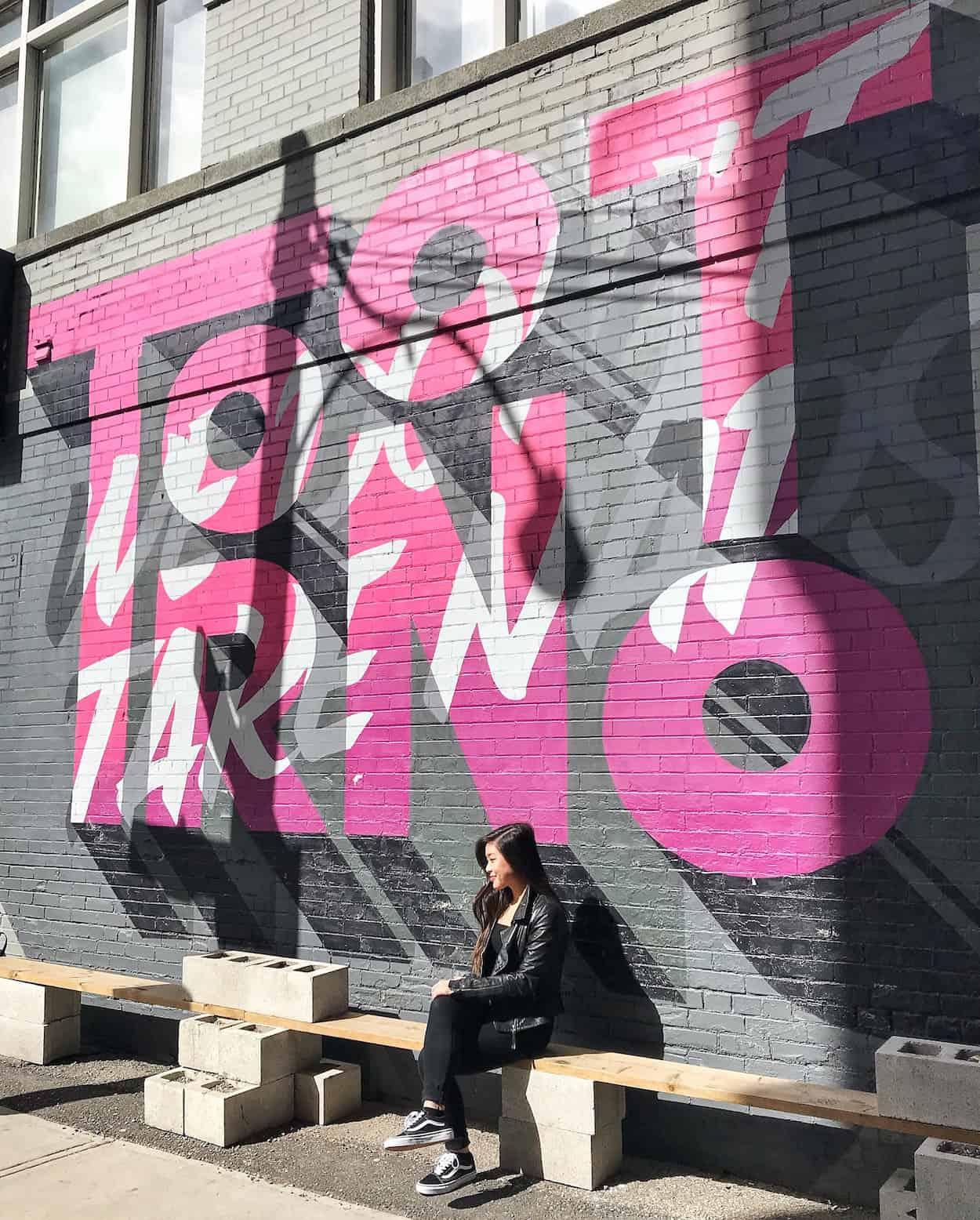 StrangeLove Coffee mural in Toronto