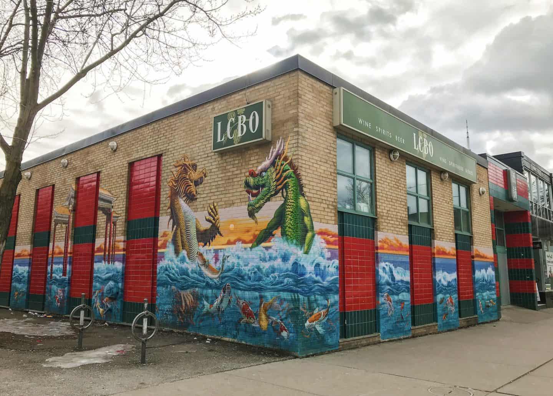 Street art in Kensington Market, Toronto