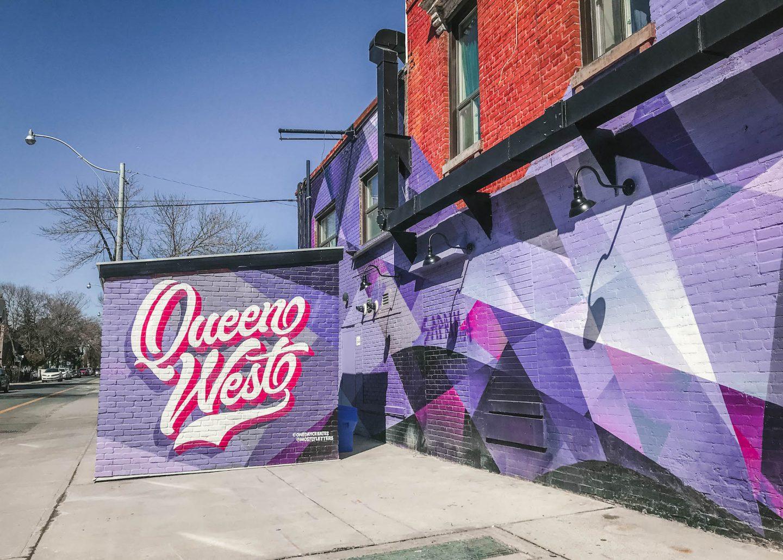 Queen West mural, Toronto