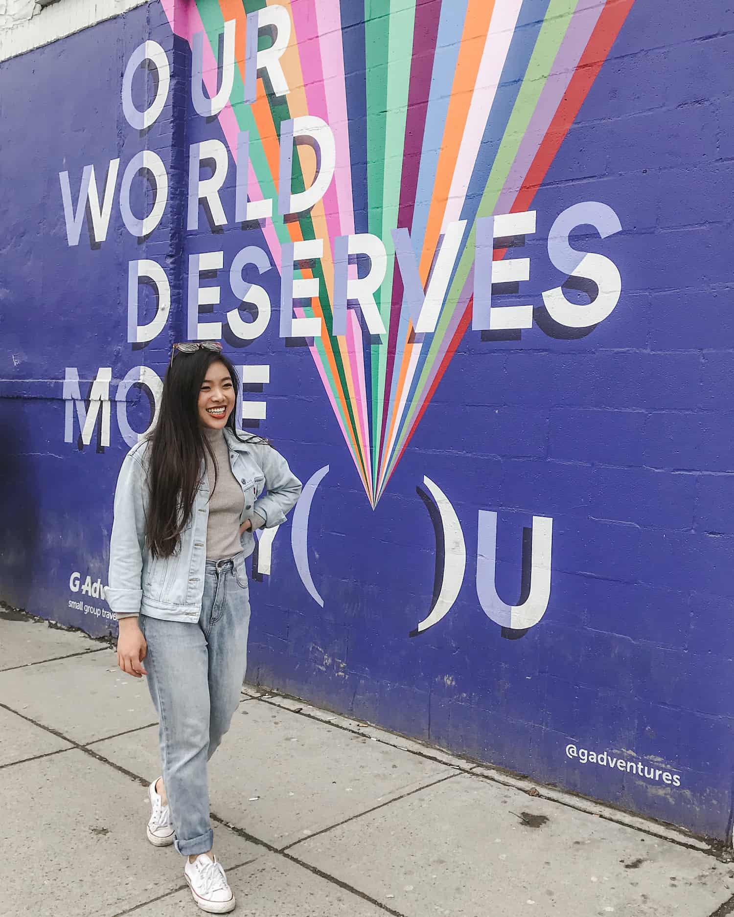 G Adventures mural, Toronto