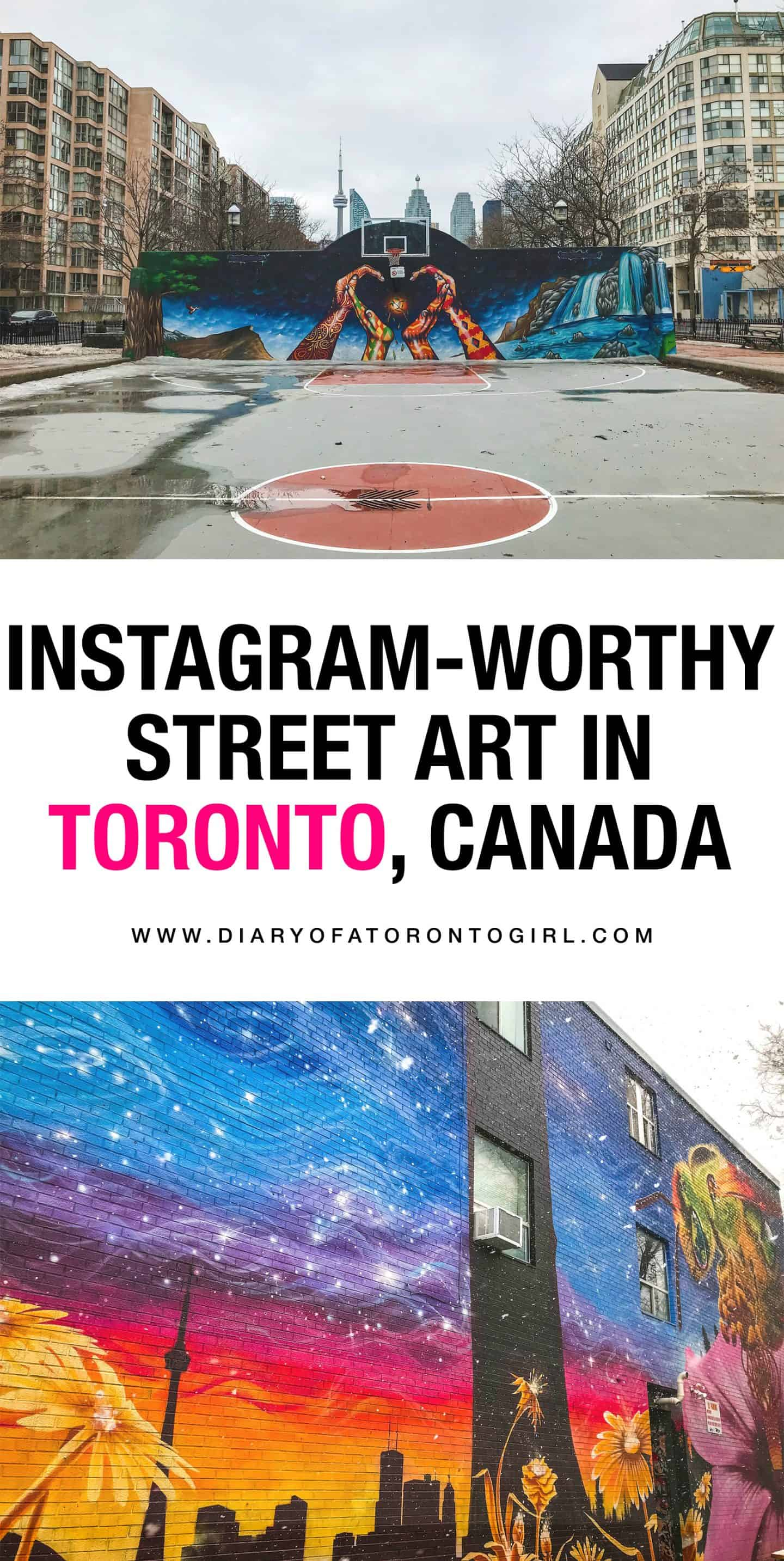 The most Instagram-worthy street art spots and walls to visit in Toronto!