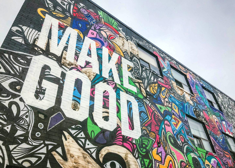 Make good mural, Toronto