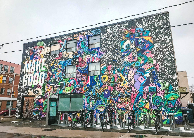 Toronto Street Art: 20 Most Instagram-Worthy Graffiti & Walls