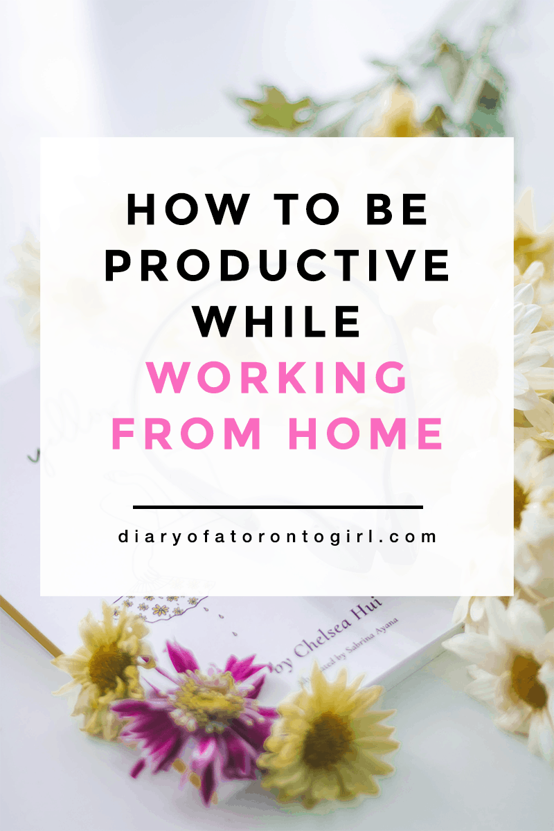 Working from home and finding it difficult to stay motivated? Here are some helpful tips on how to be more productive while working at home!