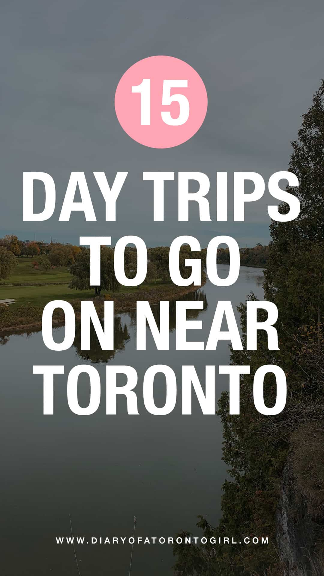 Fun day trips from Toronto to go on! There's no need to travel far for great experiences – Ontario is filled with incredible sights and fun activities.