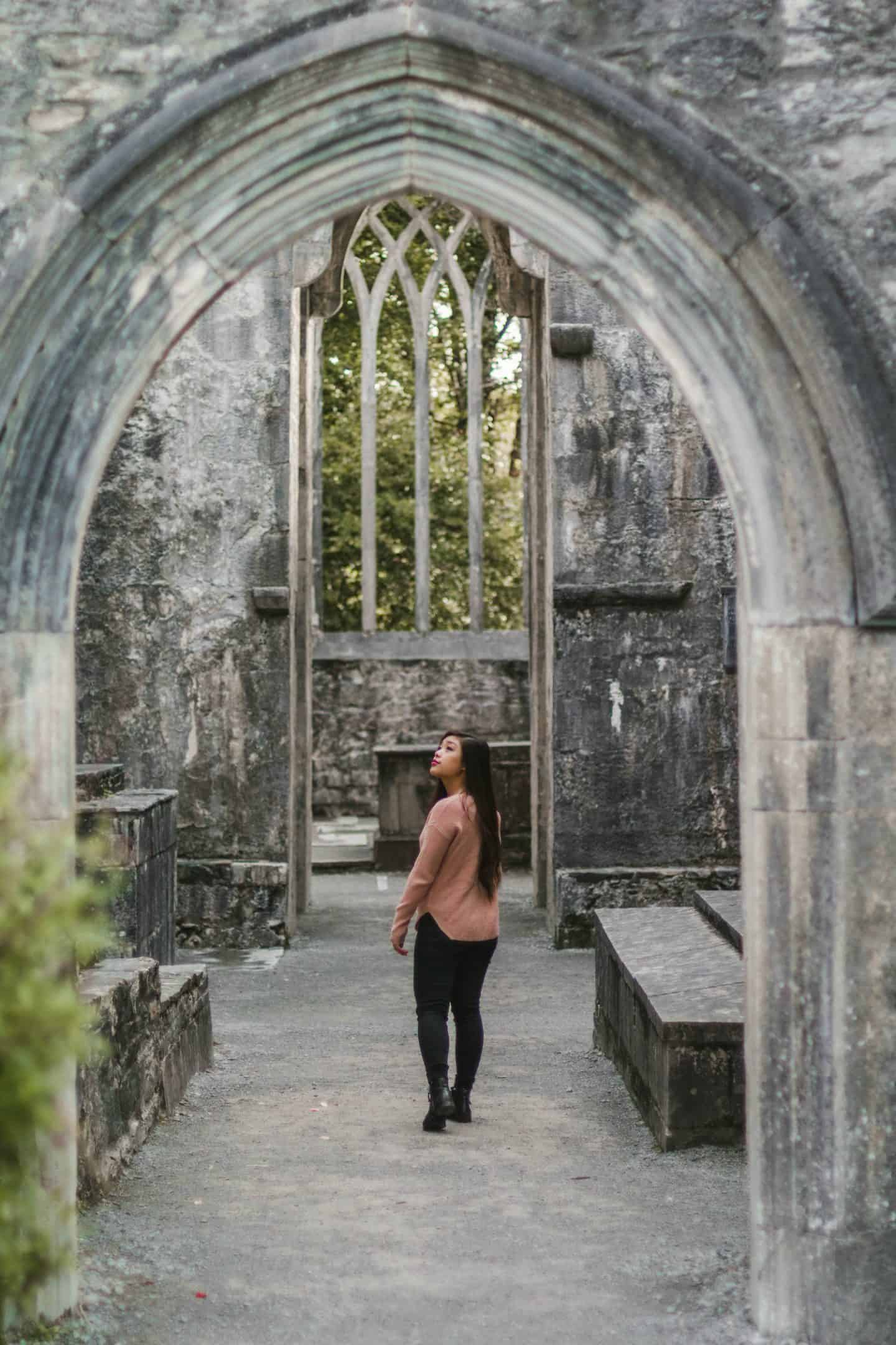 A visit to the old Muckross Abbey in Ireland