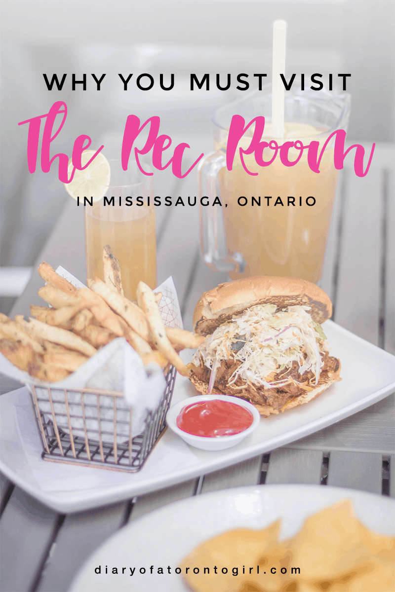 The massive Rec Room Square One in Mississauga is filled with fun games and delicious eats. Here's a look at their spring and summer menu!