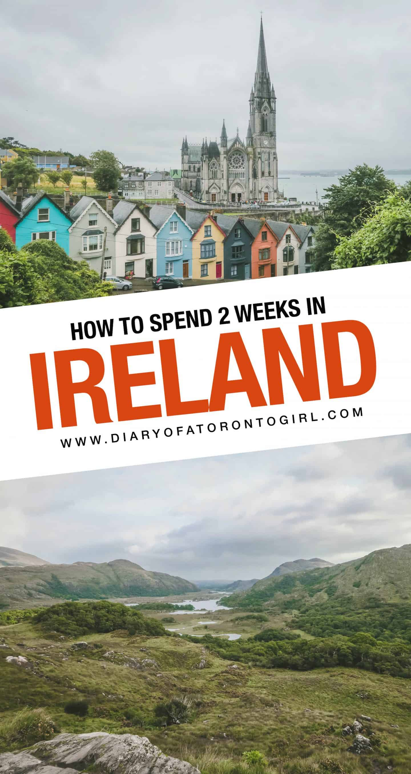 Planning a visit to Ireland? Here's a detailed look at our 2 week Ireland road trip itinerary, including all of the attractions we saw and everywhere we went!