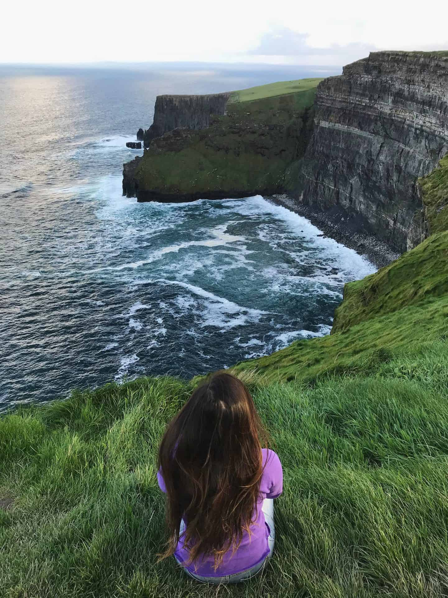 The Cliffs of Moher is one of the most iconic stops for your 2 week Ireland road trip itinerary