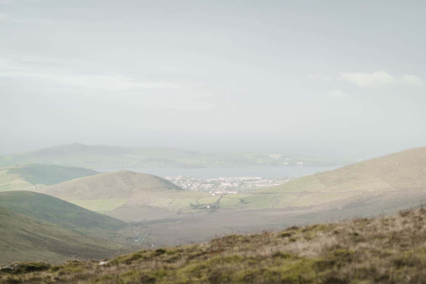 Conor Pass on the way to Dingle, Ireland
