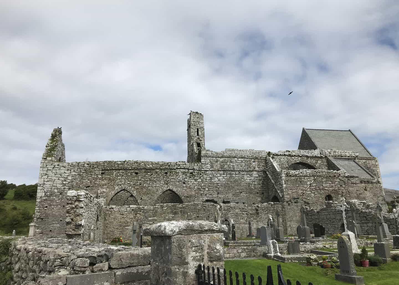 Corcomroe Abbey in Ireland