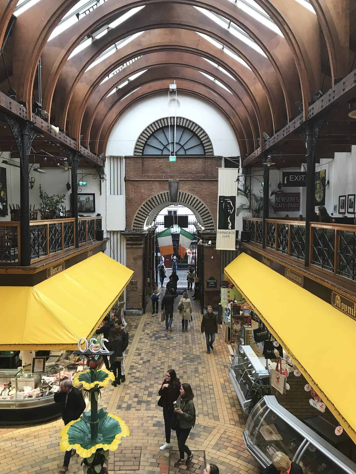 The English Market in Cork, Ireland