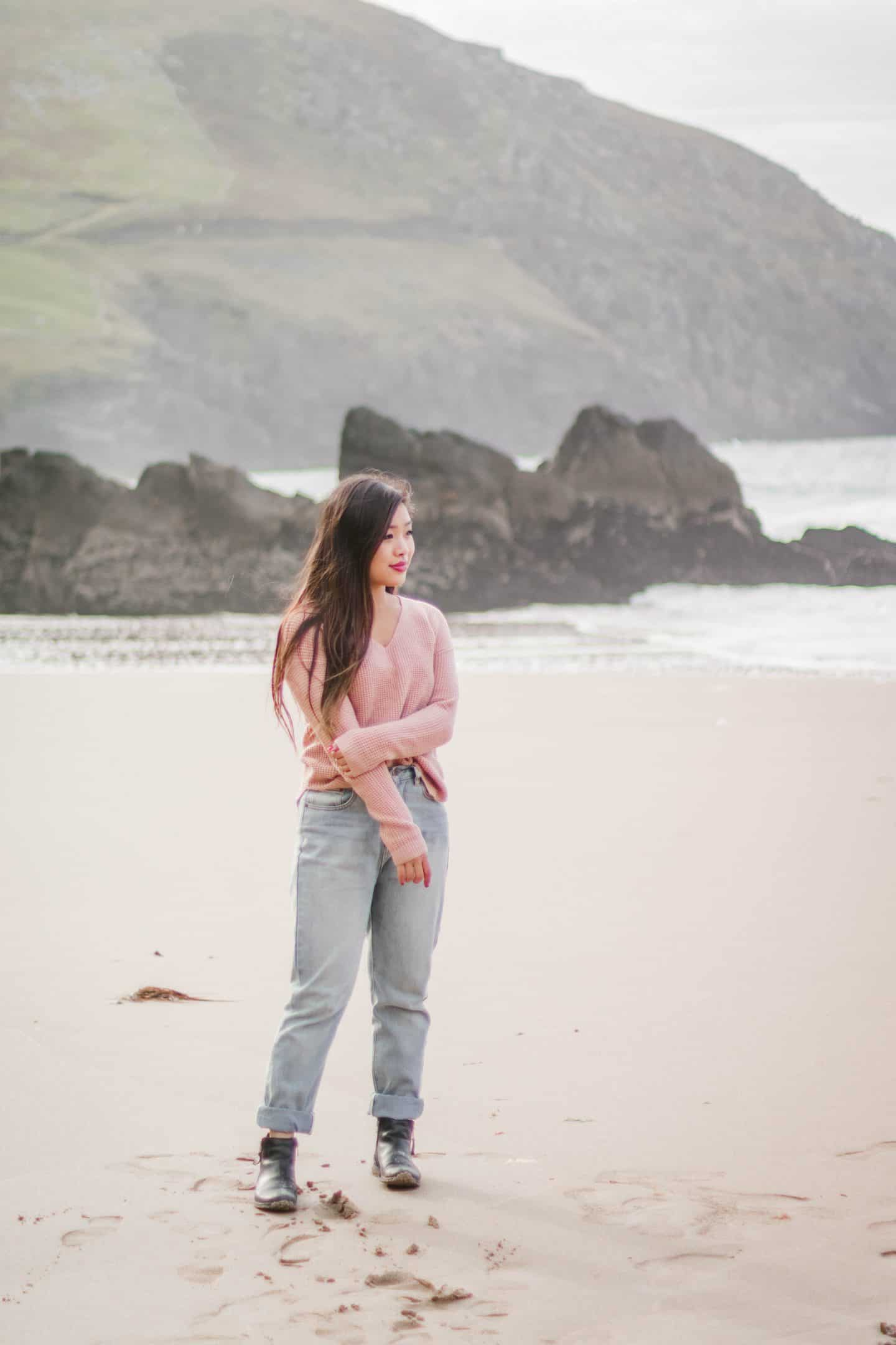 Coumeenole Beach on the Dingle Peninsula in Ireland