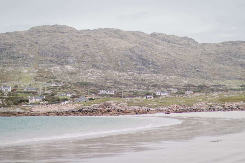 Exploring Dog's Bay Beach in Ireland