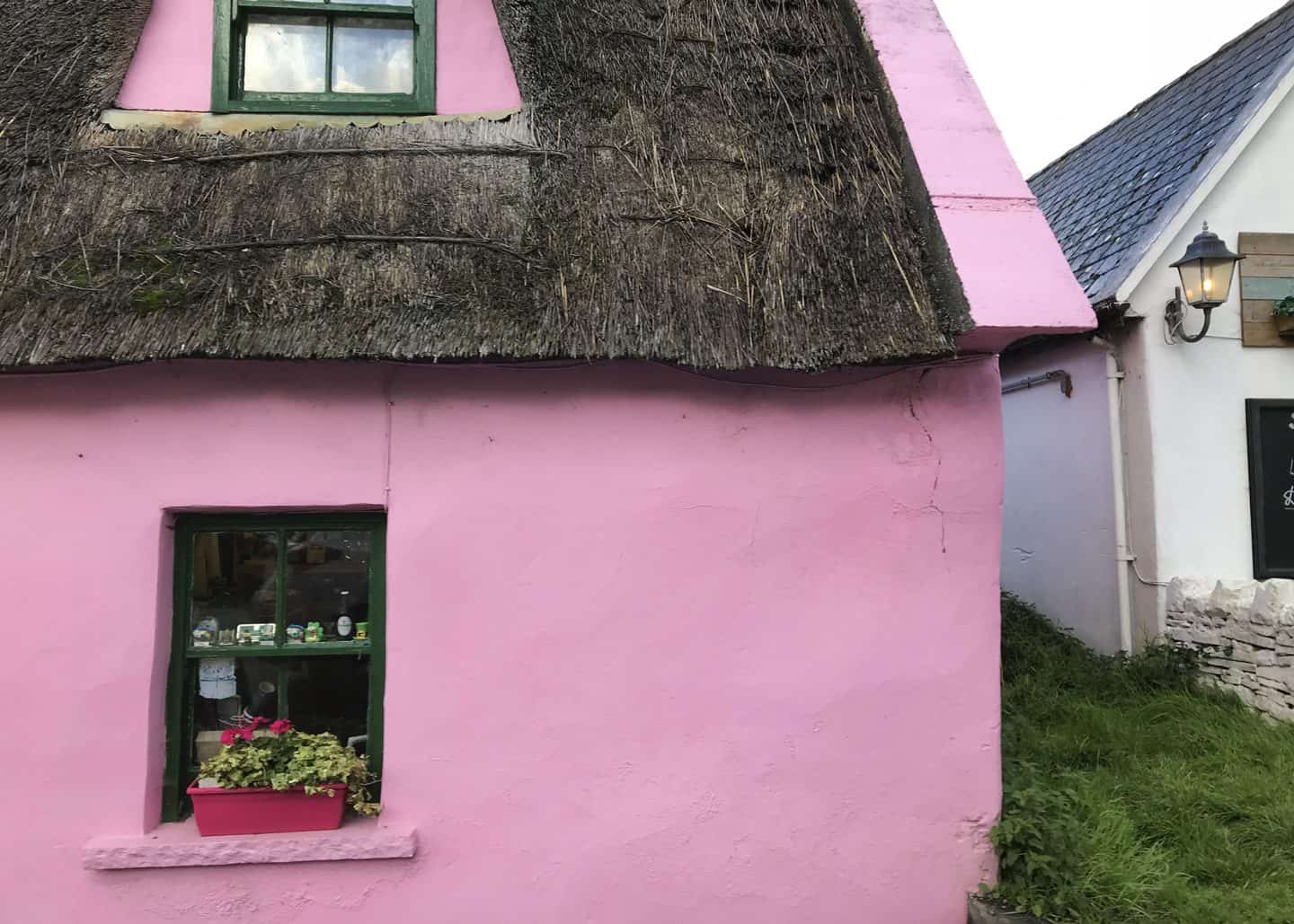 Doolin village is not far from the Cliffs of Moher in Ireland